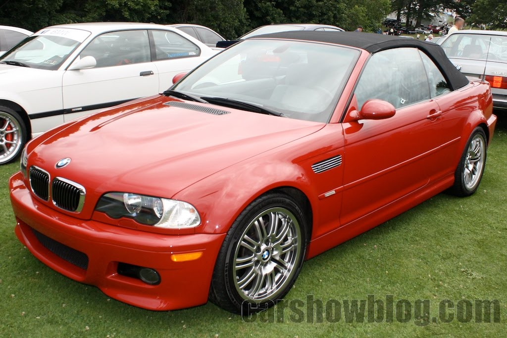 Car Show Blog Bmw M3 Red Convertible