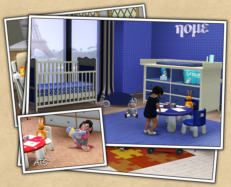 mod the sims 3 by bozena zestaw baby world na around the
