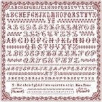 SAL 9 alphabets 1900