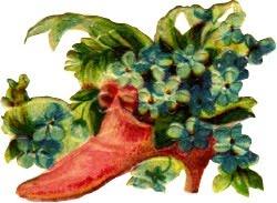 Floral Ladys Shoe