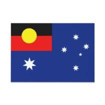 aboriginal australia flag