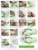 Zapatillas decoradas Chinelo+verde+2