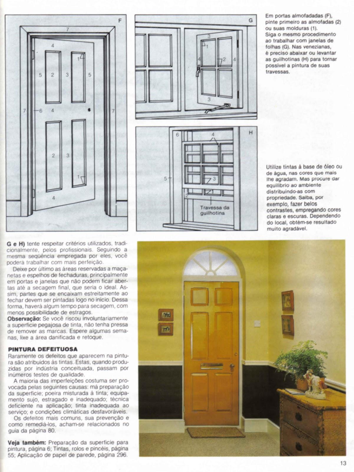 #9E882D  Preparar e Pintar Paredes Portas e Janelas de Madeira  Passo a Passo 1246 Portas E Janelas Em Madeira