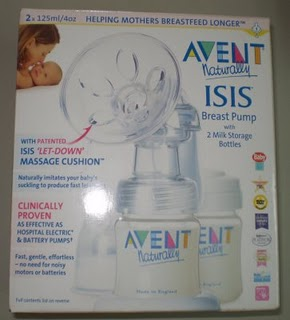 The avent isis breast pump