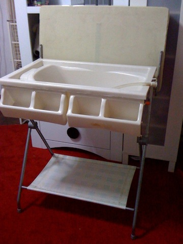 Macam Macam Ada Pooh Baby Changing Table With Bathtub
