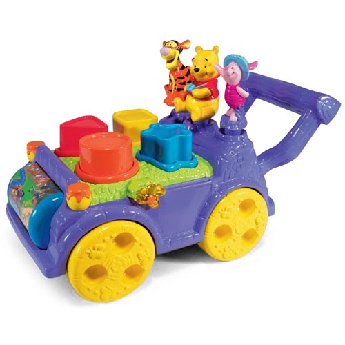 Disney Winnie the Pooh Bear Sort N Learn Cart from Vtech ...
