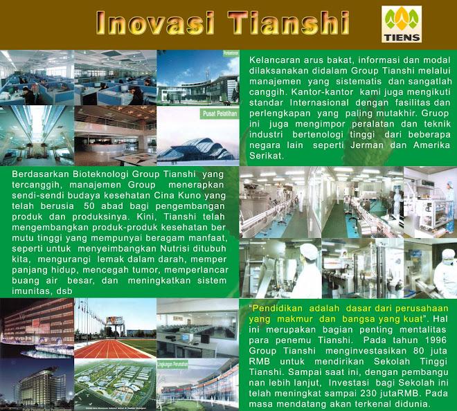 INOVASI TIANSHI TANPA HENTI