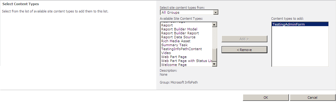 How to use Form Templates for InfoPath Forms Services inside Project ...