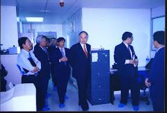 Lawatan Najib Cleanroom UKM, 1999