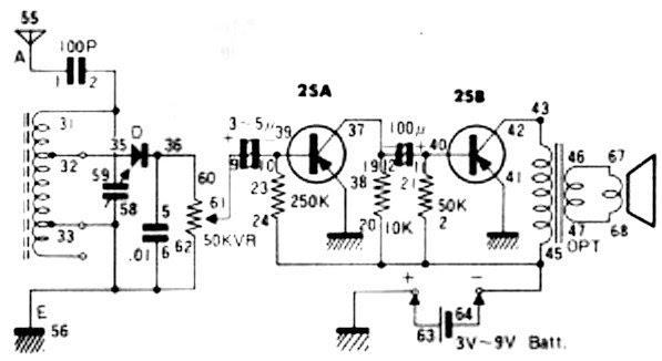 lafayette transistor radio schematic wire center u2022 rh 207 246 102 26