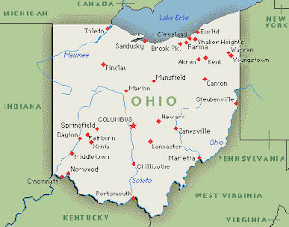 Ohio map image photo picture