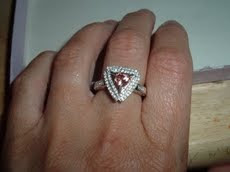 pink zircon ring image
