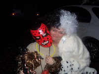 Cruella DeVille and Boogeyman WWE Halloween costumes image photo picture