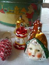 Julepynt av fiiin gammel årgang..