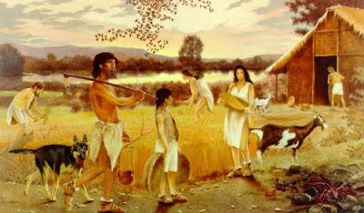 Nuestra clase de conocimiento del medio la prehistoria for Mural nuestra carne