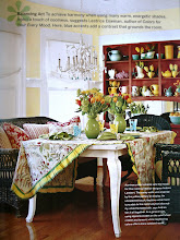 Idea Notebook- Cottage Brights- Country Living Magazine, Produced and Styled By Michelle Zuniga