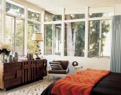Site Blogspot  Trina Turk Dress on Trina Turk S Bedroom In Her Los Angeles Home  Notice The Fabienne
