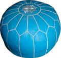 Moroccan Poufs from Zuniga Interiors