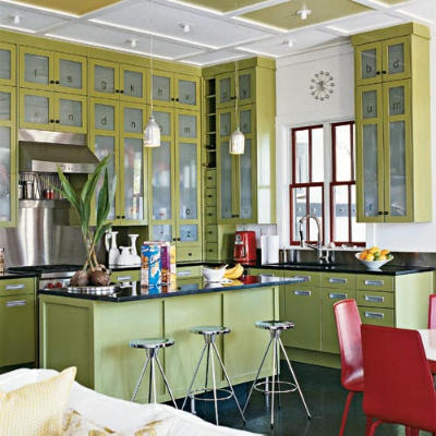 Kitchen  Dining on Vintage Style Kitchens And Dining Rooms Xochi Santa Fe