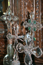 Vintage Crystals Embellish Our Bottle Collection