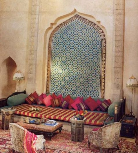 Zuniga interiors moroccan chic - Moroccan style living rooms ...