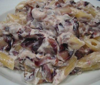 radicchio e salsiccia ricetta pasta radicchio e salsiccia