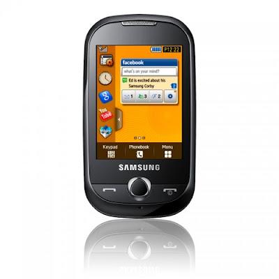 Giochi , Sfondi, Suonerie per Samsung Corby S3650