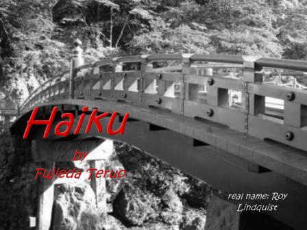 Haiku ( new )