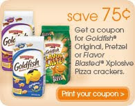 picture about Goldfish Printable Coupons identified as Warm* Printable: Pepperidge Farm Goldfish