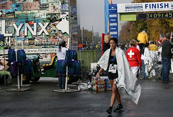 Kary finishing CIM 2010