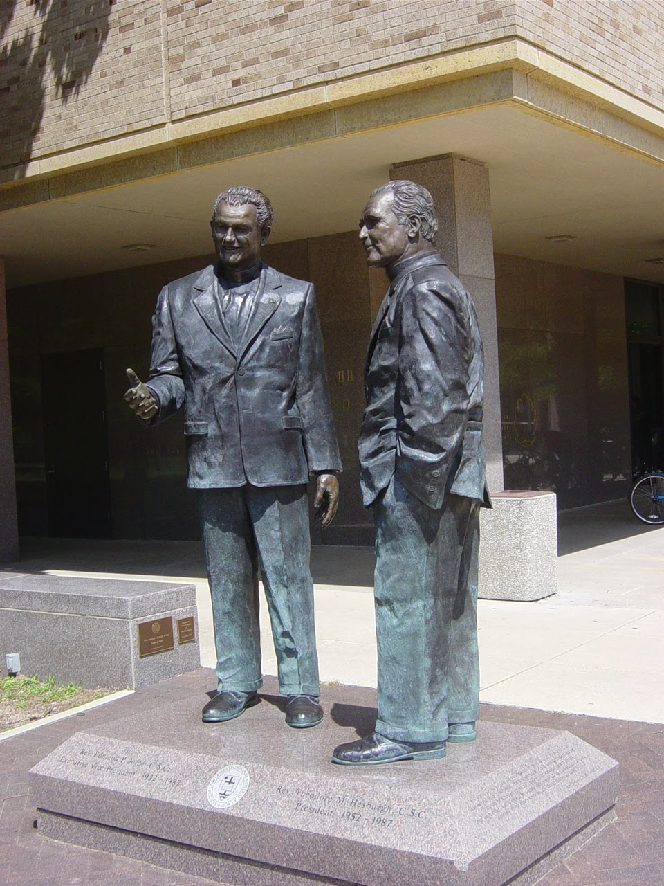 Fathers Joyce and Hesburgh