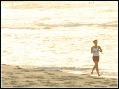 Bondi Beach jogger