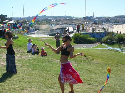 Bondi Beach twirler