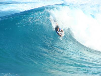 Bondi Beach bodyboarder