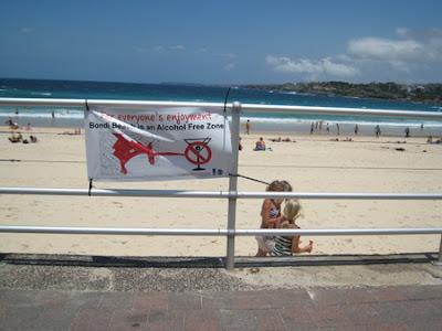 Tem Muito Oriental na Austrália? bondi beach alcohol free