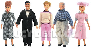 I Love Lucy Action Figures