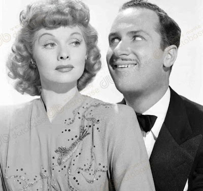 Lucille Ball and Keenan Wynn