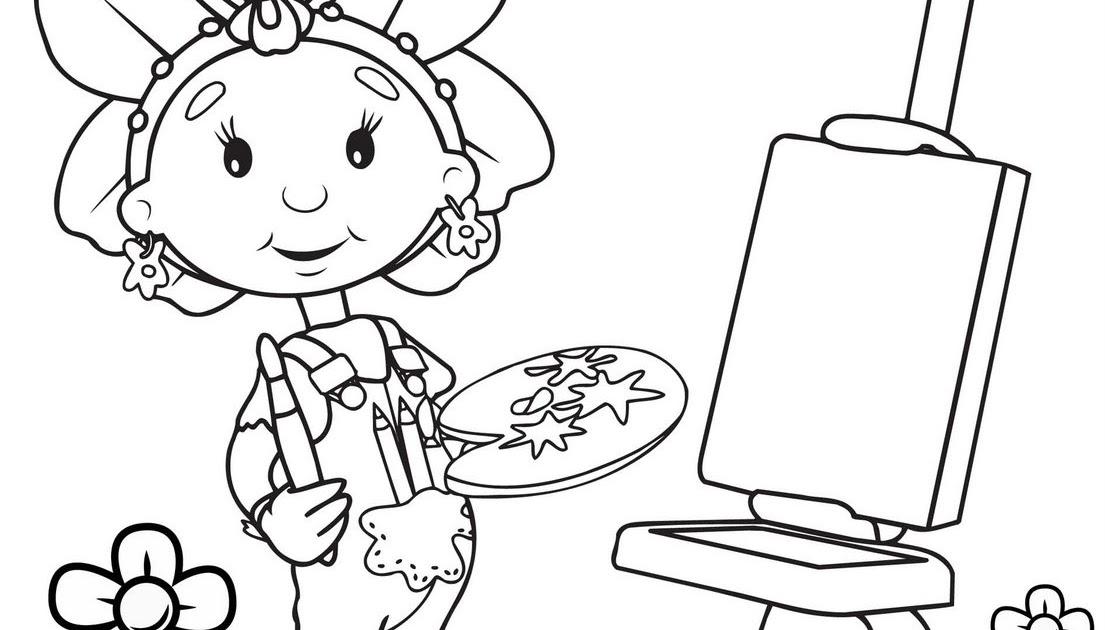 vizio blog  fifi y los floriguitos para colorear