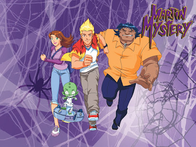 teletubbies wallpaper. MARTIN MYSTERY WALLPAPERS