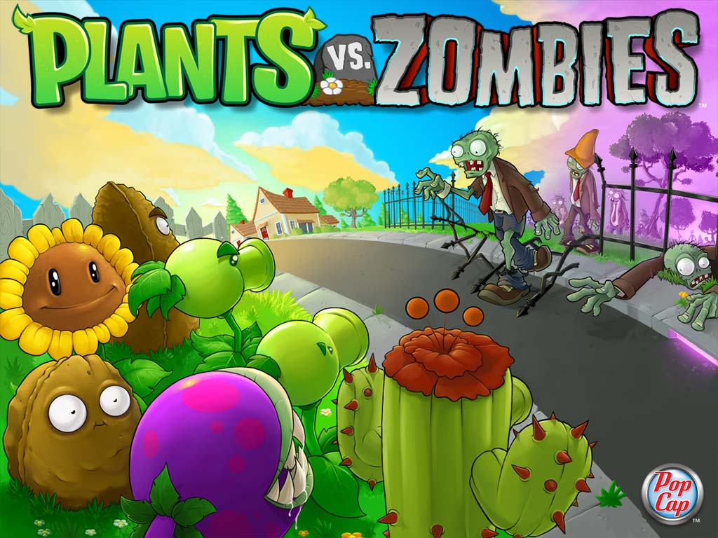 VIZIO BLOG: PLANTAS VS. ZOMBIES WALLPAPERS POPCAP GAMES