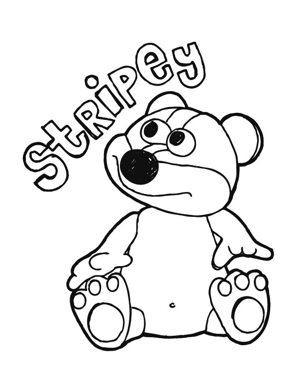 domo kun coloring pages - photo#34