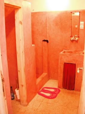 L'eau :douche et wc