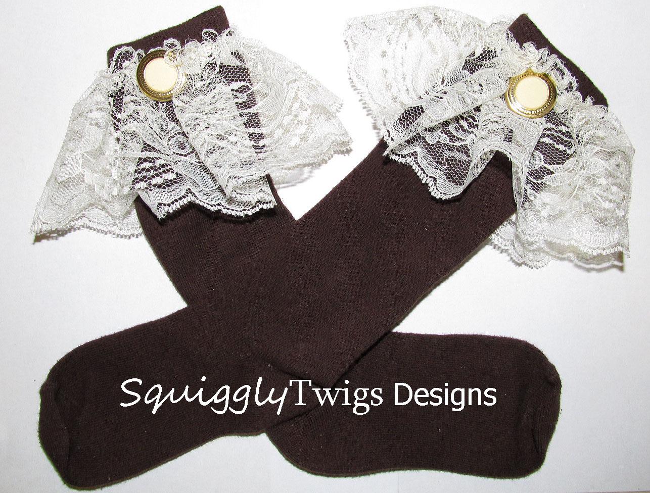 SquigglyTwigs Designs Tuesdays Tute Victorian Socks