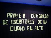 Primer Congreso de Escritores de la cuidad de El Alto