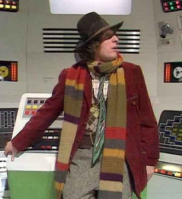 Tom Baker Scarf Knitting Pattern : William Morris Fan Club: Knit the Dr. Who Scarf