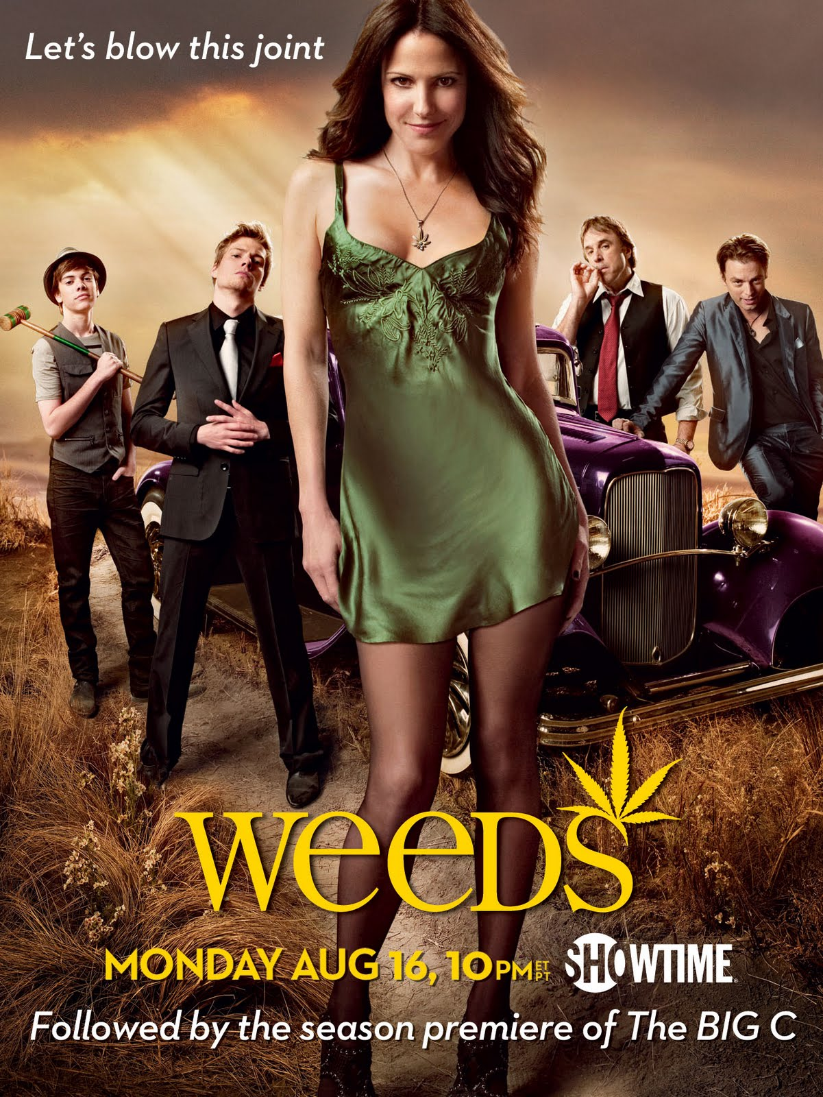 Pantyhose Woman: Mary-Louise Parker - Weeds Season 6 Promo