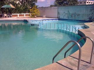 tskworld hilton swimming pool in chrompet