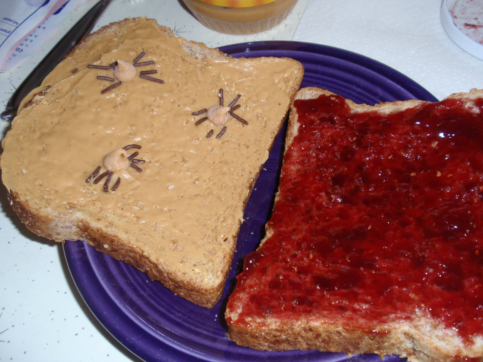Peanut Butter And Jelly Tattoo
