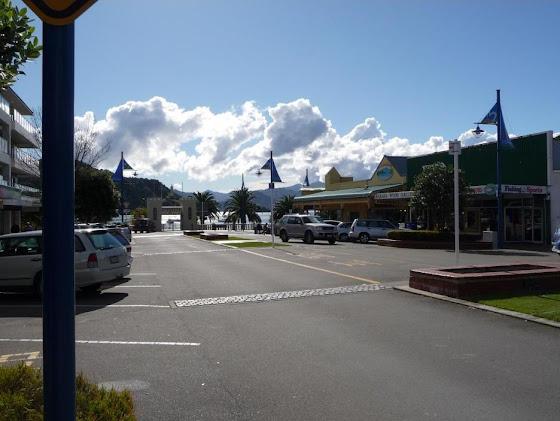 La llegada a Picton