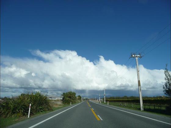 La carretera de Picton, Nueva Zelanda